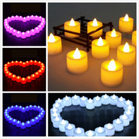 Creative Wedding Birthday Party Decoration LED Candles Flick...