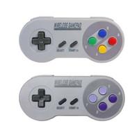 MASiKEN 2.4GHZ Controller wireless Joystick per giochi Joepad Gamepad per NES (SNES) Accessori Nintendo Mini Nintendo Classic