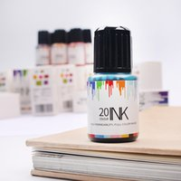 non carbon Color Ink 20 Colors X 15ml bottle, Fountain Pen I...