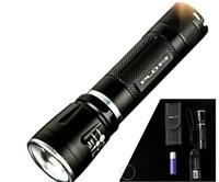 LED K31 Torcia Zoomable telescopica di messa a fuoco della torcia elettrica 18650 del Cree Q5 mini torcia di campeggio esterno per auto portatile chiara impermeabile