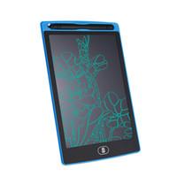 Tableta de escritura LCD Tablero de notas digital de 8,5 pulgadas Tableros de escritura a mano pizarra con pluma para adultos Niños Oficina Dibujo libre de DHL