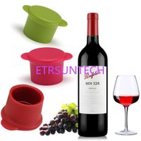 Silicone Bar Wine Stopper Fresh Keeping Bottle Cap Flavored ...