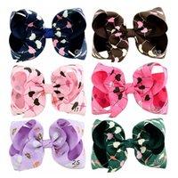 Bébé fille Barrettes ruban gros-grain JOJO Bow Barrettes clips forme de coeur Hairpins Bubble Flower Enfants Boutique Accessoires cheveux Y127