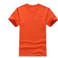 2021 Hot Brand Summer Casual New Men Maglietta manica corta da uomo 100% Cotone Tops T-shirt O-Collo Harmont Blaine T-shirt da ricamo