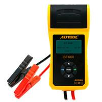 Autool BT660 Autobatterie Tester Automobil Lade Cranking Test Tool Mit Eingebauter Drucker Funktion Unterstützung Multi-Language