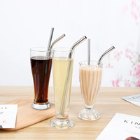 Hot Sale Drinking Straw Reusable Straws Cleaner Brush Set Hi...