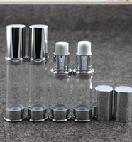(50pcs lot) 5ML empty vacuum airless press pump cosmetic bot...