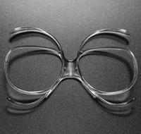 Lunettes de ski en gros universel myopie cadre intérieur lunettes de ski myopie adaptateur papillon peut être équipé de la myopie