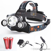 5000LM LED Headlamp CREE XML T6 4 Modes Rechargeable Headlig...