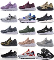 new styles e5a4a ed9c0 Vente chaude 2018 Nouveau Style Air Huarache 1 Ultra Run Chaussures de  Sport Hommes Femmes Huaraches Chaussures de Course Trainer Sneakers  chaussures Taille ...