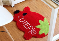 50 x 80 cm home decoration cartoon bath mats carpet mats doo...