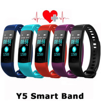 Smart Sports Band Color Screen Bracelet Y5 with Heart Rate B...