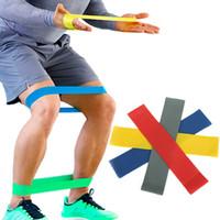 4 Уровня Сопротивления Полосы Йога Пояс Эластичный Резиновый Тренажерный Зал Силовые Тренировки Растяжения Ремни