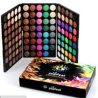 Popfeel 120 цветов теней для век профессиональный макияж тени для век мерцание матовая палитра теней для век набор комплект DHL бесплатная доставка