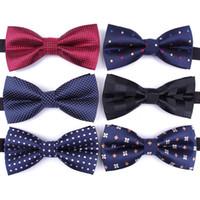 ربطة العنق الرجال الرسمي ربطة عنق رجالية أزياء الزفاف الأعمال ربطة الانحناءة الذكور اللباس قميص هدية legame