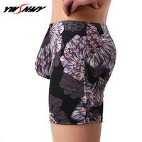 2PCS lot Men Long Boxers Comfortable Boxershorts Man Sexy U ...