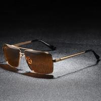 5ffe87278e8 Occhiali polarizzati Steampunk Occhiali da sole da uomo Hot Rays Luxury  Brand Occhiali da sole maschili