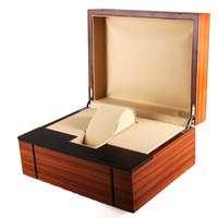 Fuentes de fábrica caja de reloj de madera de alta calidad caja de reloj de laca exquisita de alto brillo caja de joyería de gama alta embalaje personalizado