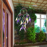 Multicolor Dream Feather Car- Wall Hanging Handmade Ornament ...