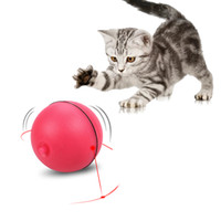 LED Flash Self Rotation Rolling Ball For Cats Electric Puzzl...