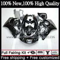 Cuerpo GSXR-600 para SUZUKI GSXR600 1996 1997 1998 1999 2000 GSX R600 5LQ37 GSXR750 SRAD GSXR 750 600 96 97 98 99 00 Black Fairing Bodywork
