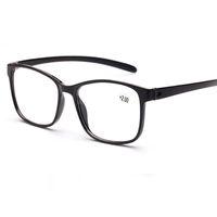 مريح hd عدسة نظارات القراءة خفيفة الشيخوخي عدسات النساء الرجال tr 90 النظارات طويل النظر للجنسين النظارات الإطار الكامل