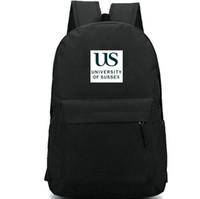 ساسكس ظهره daypack جامعة الولايات المتحدة كن لا يزال ومعرفة حقيبة مدرسية كلية شارة الظهر الرياضة حقيبة مدرسية في الهواء الطلق حزمة اليوم