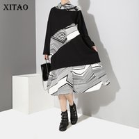 [XITAO] 2018 Autumn Fashion New Women Turn- down Collar Full ...