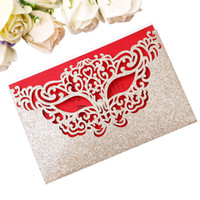 New Arrival Mask Invitation Cards for Makeup Masquerade Part...