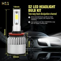 1 Çift LED Araba Far H1 H7 H4 / HB2 / 9003 H8 / H11 HB4 / 9006 Yedek Ampuller Sis Işık Otomatik Far Araba-styling 200 W / takım 6000 K