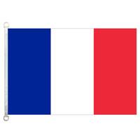 [좋은 국기] 프랑스 깃발 배너 3X5FT-90x150cm 100 % 폴리 에스테르 국가 국기, 110gsm 워프 니트 직물 실외 플래그