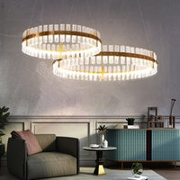 LED Modern Crystal Chandelier European Shining Crystal Chand...