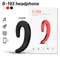 Earphones S103 Bluetooth Headset Stealth Sport Headphone For...