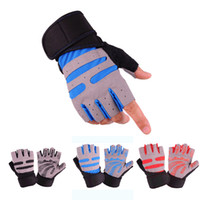 Men And Women Half Finger Fitness Gloves Weight Lifting Glov...