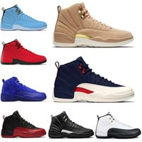 Mens Top 12 Deep Royal Blue Basketball Shoes Taxi The Master...
