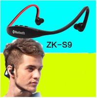 Zk-S9 беспроводная Bluetooth-гарнитура мобильный телефон работает голова носить ухо Лавальер стерео