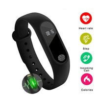 M2 Smart Watch Fitness Tracker Heart Rate Monitor Waterproof...