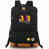 BBB Backpack Lonzo Ball Star Day Pack Basketball Design Bashing حقيبة مدرسية حقيبة الترفيه Packsack أسود Rucksack الرياضة المدرسية في الهواء الطلق Daypack