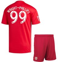 18 19 New York Red Soccer Jersey Shorts 2018 2019 WRIGHT- PHI...