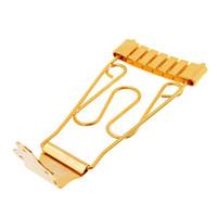 5 قطع من (باس غيتار ترابيز الذيل جسر لمدة 6 سلسلة أجزاء الغيتار archtop (الذهب))