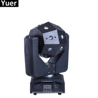 NUOVO Stage Equipment 16X3 W LED Moving Head Light / USA Luminums 100W LED Moving Heads Dj Lights per Stage Bar Party Disco Shows