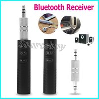 Bluetooth Receiver Car Aux Audio Adapter Mini Wireless Hands...