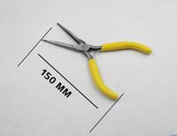 5インチのミニ4ピースセット小さなペンチが付いている鼻ペンチのビーズのジュエリー手作りのジュエリープライヤーハードウェアツール