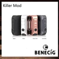 Benecig Killer Box Mod 260W LED Fonctionnalités lumineuses Protection du système de sécurité Mech Mod 100% d'origine