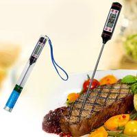 Термометр еды цифров кухня ББК обедая инструменты термометры домочадца температуры стиля ручки Варя без пластиковой трубки