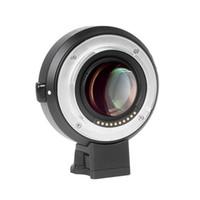 Viltrox EF-E II Lens Dağı AF Otomatik Odaklama Azaltıcı Hız Booster Adaptörü Canon EF Lens Sony E-montaj Kamera