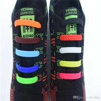 Chaussure Led Dragonscales Odern 8 pçs / set Prático Moda Masculina Das Mulheres Dos Homens Tipo Martelo Preguiçoso Sem Laços Cadarço de Silicone Elástico