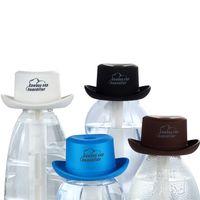 منتزهات مصغرة المرطب كاوبوي قبعة شكل زجاجة المياه المعدنية USB شحن الانحلال السفر في الهواء الطلق (بدون زجاجة)