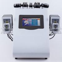 ارتفاع الكثافة فراغ 40K بالموجات فوق الصوتية التجويف النحت الجسم التخسيس آلة التخسيس RF فراغ RF الجلد 8 وسادات LLLT يبو آلة الليزر CE