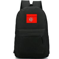 Salários mochila inimigo arco do pecado daypack Terra preta banda de rock mochila Música mochila esporte saco de escola ao ar livre bloco do dia